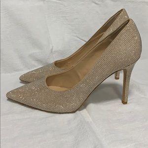 Gianni Bini Gold shoes, 7M